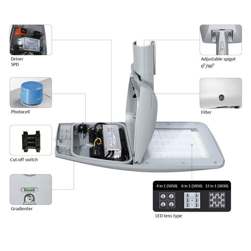 High Power LED Street Lighting